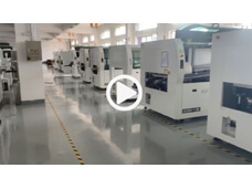 Wave Soldering Machine Manufacturing Workshop