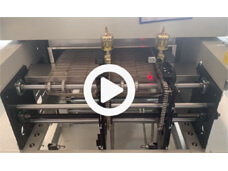 Reflow Oven Rail Chain and Mesh Belt Conveyor