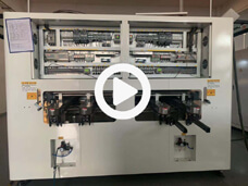 Dual Rail Wave Soldering Machine Side Video