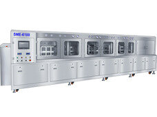 SMT PCBA In-line DI water Cleaning Machine SME-6100